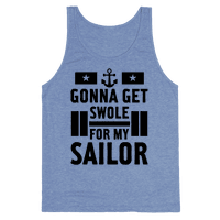 Getting Swole For My Sailor