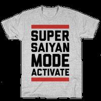 Super Saiyan Mode Activate