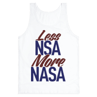 Less NSA More NASA