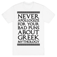 Never Apollogize For Your Bad Puns About Greek Mythology