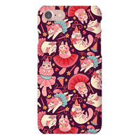 Cute Princess Cat Pattern