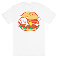 Burger Cat (No Text)