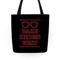 Barb Knows Best Tote