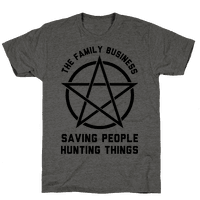 Saving People Hunting Things the Family Business