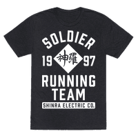 Soldier Running Team