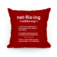 Netflixing Pillow