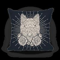 Seven Eyed Fox Pillow