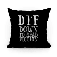 DTF Down to (Read) Fiction