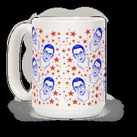 Red White and RBG Mug