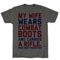 My Wife Wears Combat Boots