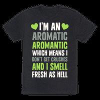 I'm An Aromatic Aromantic
