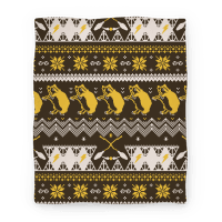 Hogwarts Ugly Christmas Sweater Pattern: Hufflepuff