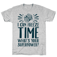 I Can Freeze Time. What's Your Superpower?