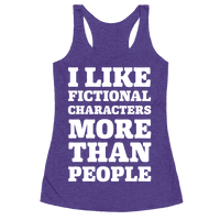 I Like Fictional Characters More Than People