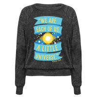 We Are Each Of Us A Little Universe
