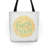 Color Blind Test ( Fuck You) Tote