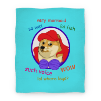 The Little Dogemaid Blanket