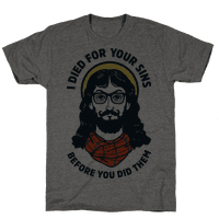 Hipster Jesus Died for Your Sins before You Did Them
