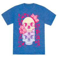 Skull of Vines and Flowers