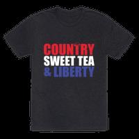 Country, Sweet Tea, Liberty