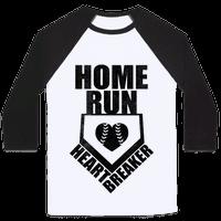 Home Run Heartbreaker (Baseball Tee)
