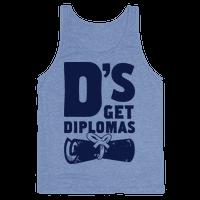 D's Get Diplomas Tank