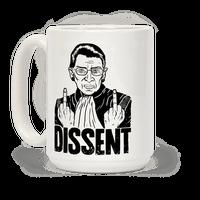 Ruth Bader Ginsburg Dissent Mug
