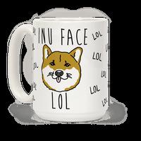 Inu Face Lol Mug