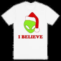 I Believe Christmas Aliens