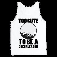 Too Cute To Be a Cheerleader (Golf)