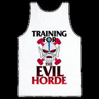 Training For The Evil Horde