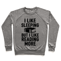 I Like Sleeping But I Like Reading More