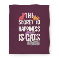 The Secret To Happiness Is Cats