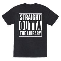 Straight Outta the Library Tee