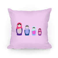 Cute Nesting Doll Family