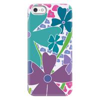 Purple Happy Flowers Pattern