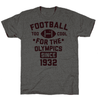 Football: Too Cool for the Olympics Since 1932
