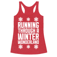 Running Through A Winter Wonderland
