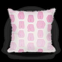 Pink Pastel Butt Pattern