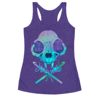 Cat Skull & Crochet Hooks