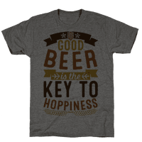 Good Beer Is The Key To Hoppiness Tee