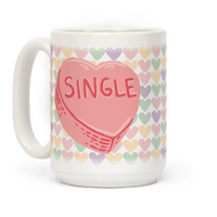 Single Conversation Heart Mug