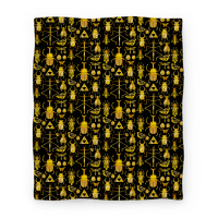 Golden Bug Collector Blanket