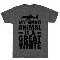 My Spirit Animal is a Great White Tee