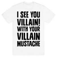 Villain Mustache