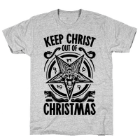 Keep Christ Out of Christmas Baphomet