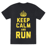 Keep Calm and Run (Dark)