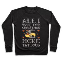 All I Want For Christmas Is More Tattoos