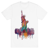 Statue Of Liberty Watercolor