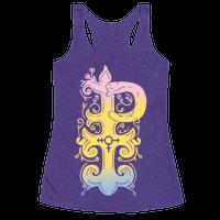 Pansexual Pride Monogram